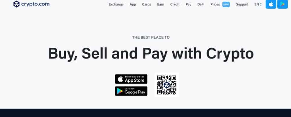 crypto.com homepage
